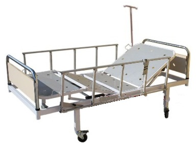 metal elektirikli hasta karyolası